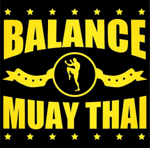 This is the Balance Muay Thai logo for our lessons in Philly for both MMA and Sport