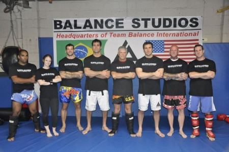 Balance Muay Thai kickboxing and boxing staff picture