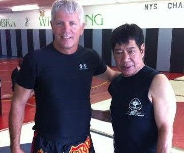 "Congrats to Kevin Seaman! Balance's first ""Ajarn"" Level Thai Boxing Instructor!"