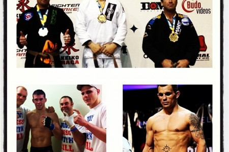 A Gold in the Pan Ams + 2 MMA wins in the world series of fighting in one day!